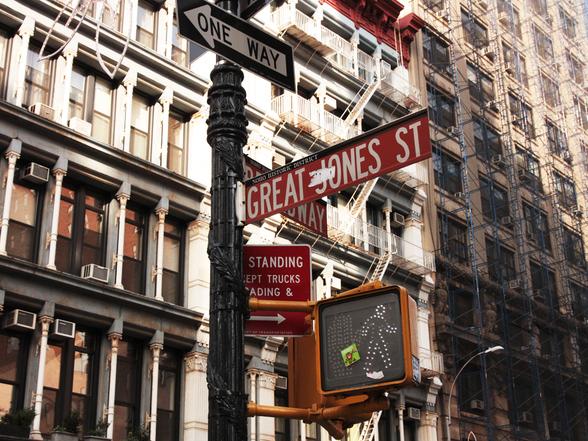 Great Jones St.