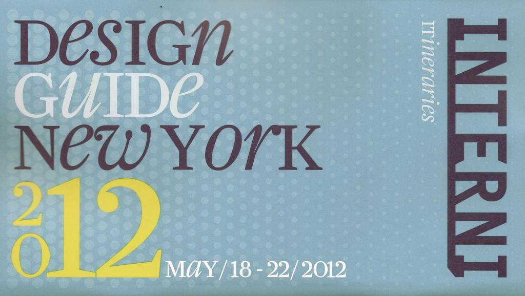 Interni ICFF Guide New York Design Week