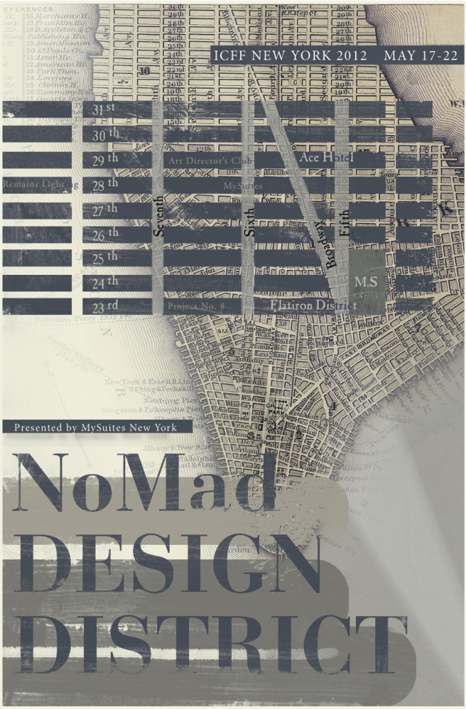 NoMad Design District, ICFF New York Design Week May 17-22