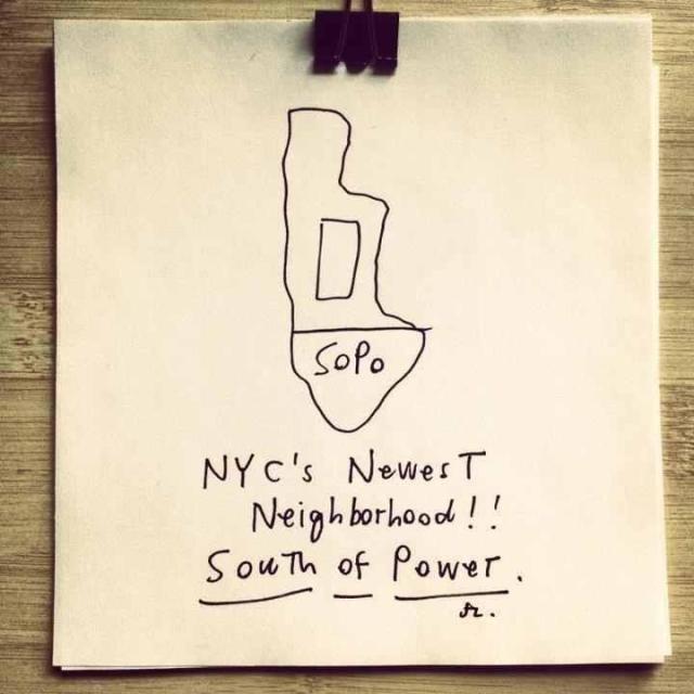 South of Power, SoPo, Sandy