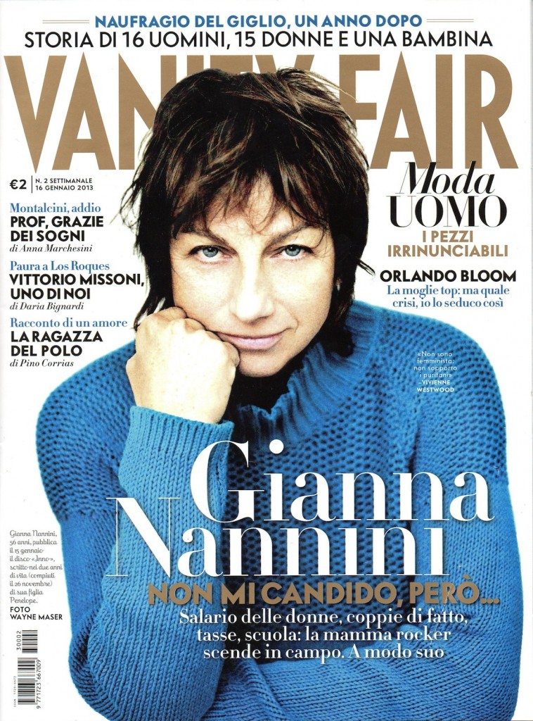 VanityFair Italy January2013