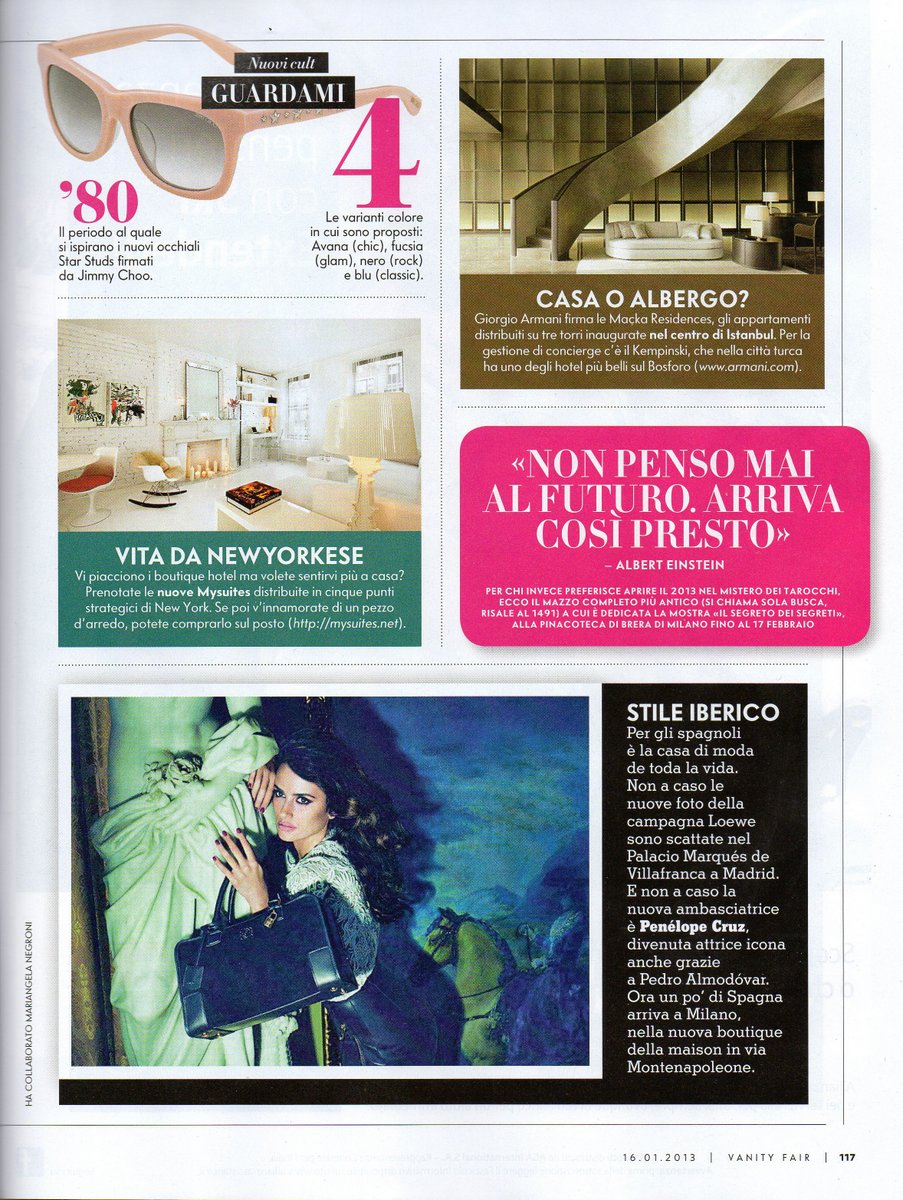 VanityFair_Italy_January2013 MySuites